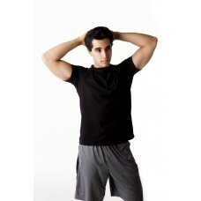 Mens soft bamboo shortsleeve tee